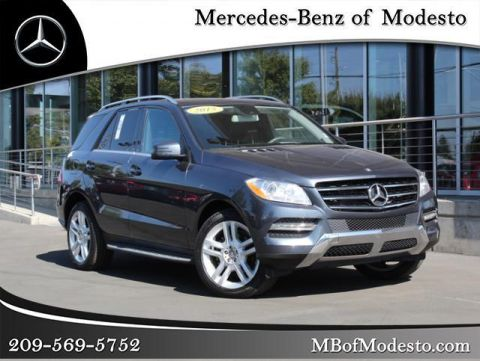 Pre-Owned 2015 Mercedes-Benz M-Class ML 250
