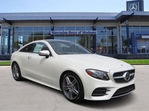New 2018 Mercedes-Benz E 400 RWD Coupe With Navigation