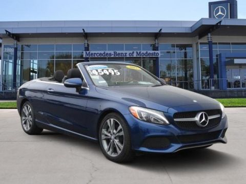 Certified Pre-Owned 2017 Mercedes-Benz C 300 Cabriolet RWD Convertible