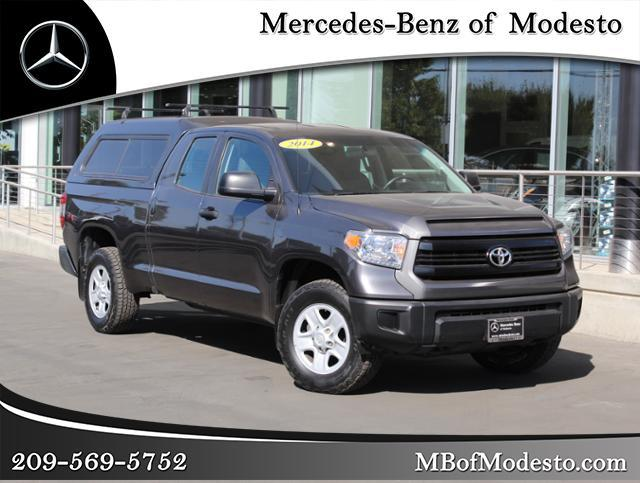 Pre Owned 2014 Toyota Tundra 4WD Double Cab 4.6L V8 6 Spd AT