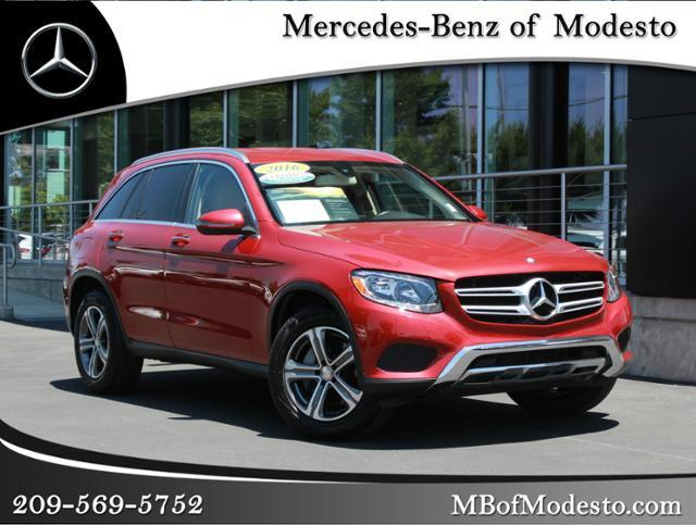 Mb Glc 300 >> Certified Pre Owned 2016 Mercedes Benz Glc 300 Awd