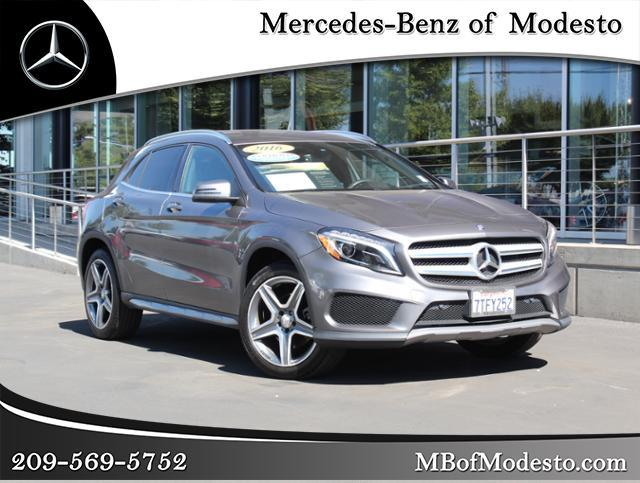 Certified Pre Owned 2016 Mercedes Benz Gla 250 Sport