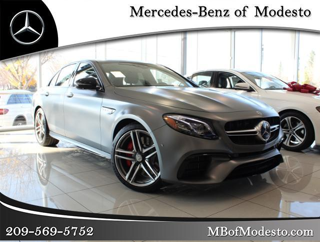 New 2019 Mercedes Benz E Class Amg E 63 S Sedan Sedan In Modesto